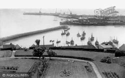 The Harbour c.1955, Folkestone