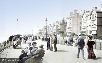 Folkestone, The Leas 1901