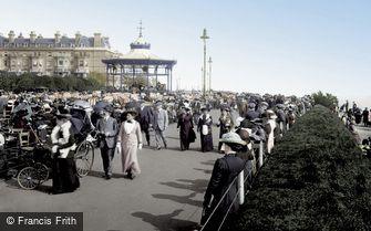 Folkestone, the Leas 1912