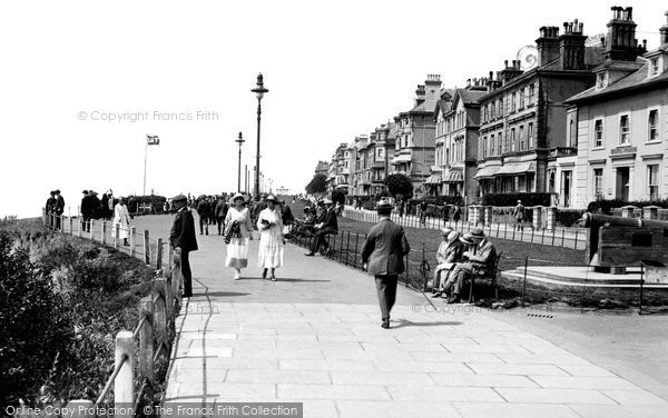 photo of folkestone the leas 1918 francis frith. Black Bedroom Furniture Sets. Home Design Ideas