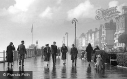 The Leas After The Storm c.1940, Folkestone