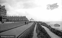 The Leas And Bandstand 1895, Folkestone