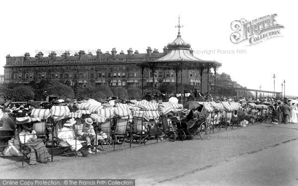 Folkestone, The Leas Bandstand 1901