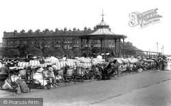 The Leas Bandstand 1901, Folkestone