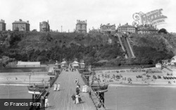 The Leas From The Pier 1901, Folkestone