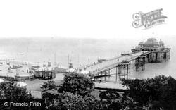 The Victoria Pier 1895, Folkestone