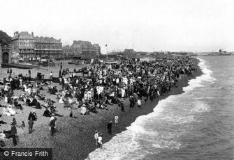Folkestone, view from Pier 1918