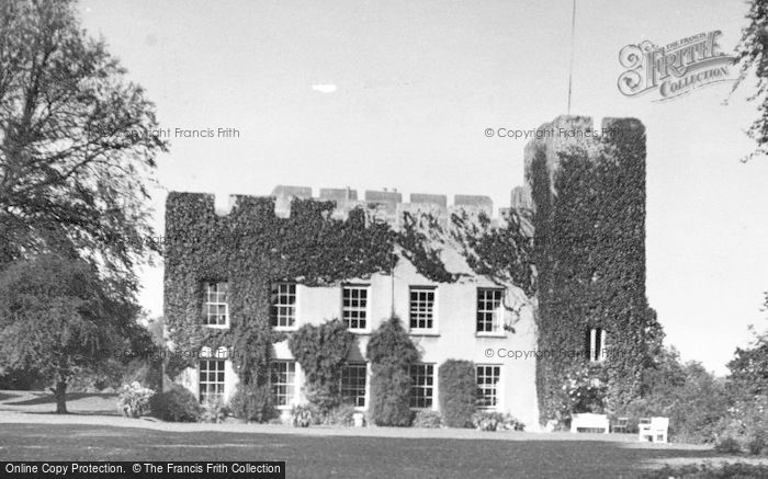 Photo of Fonmon, Castle c.1955