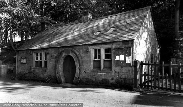 Photo of Ford, The Blacksmiths Shop c.1955