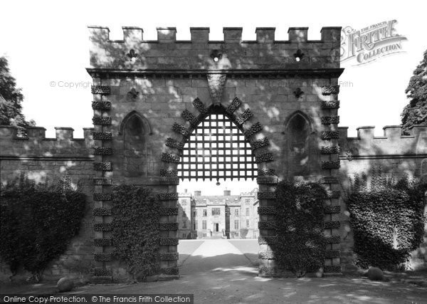 Photo of Ford, the Castle Portcullis c1950, ref. F207008