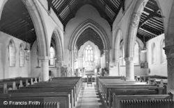Ford, The Parish Church Interior c.1950