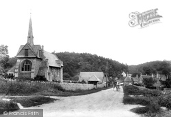 Ford, Village And Church Of St John 1907