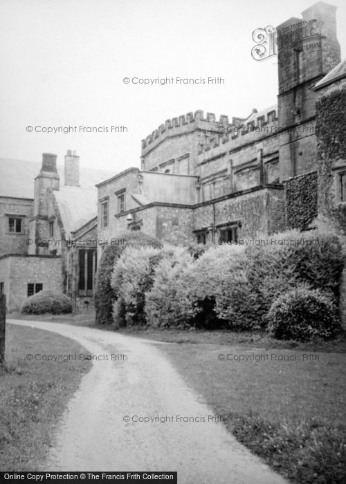 Photo of Forde Abbey, c.1955