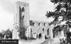 Fordham, The Church c.1960