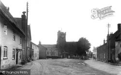 Fordingbridge, Church Street And Bowerwood Road c.1950