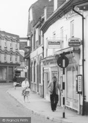 Fordingbridge, High Street Shops And The New Inn c.1960