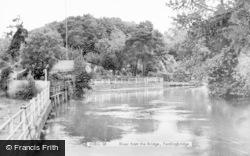Fordingbridge, River From The Bridge c.1960