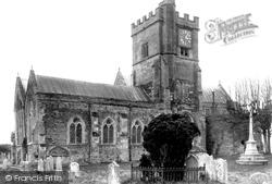 Fordingbridge, St Mary's Church c.1950