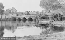 Fordingbridge, The Bridge c.1960