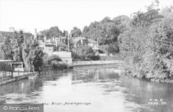 Fordingbridge, The River Avon c.1955