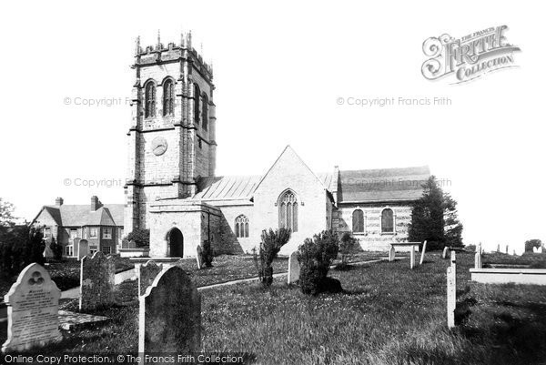Photo of Fordington, St George's Church 1898