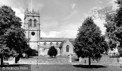 Fordington, St George's Church c.1955, Fordington Down