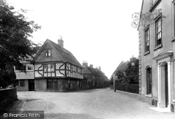 Fordwich, Manor House And King Street 1899