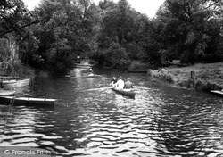Fordwich, The River Stour c.1960
