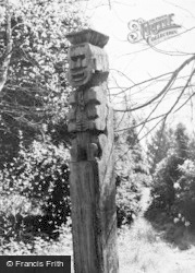 The Old Mill, Totem Pole c.1955, Forest Green