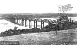 Forest Of Dean, And Severn Railway Bridge 1892