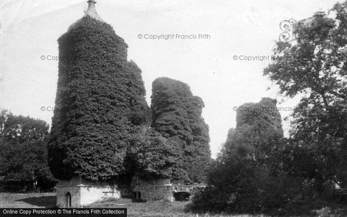 Photo of Forest Row, Brambletye Castle 1890
