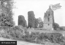 Forest Row, Brambletye Castle 1907