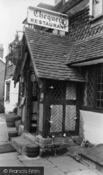 Forest Row, Chequers Restaurant c.1965