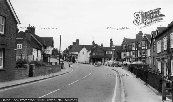 Photo of Forest Row, East Grinstead Road c.1965