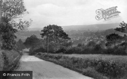 Forest Row, From Wall Hill 1909