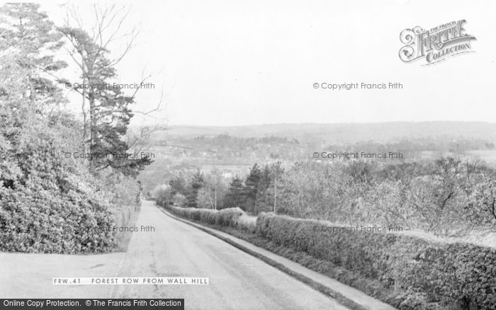 Photo of Forest Row, From Wall Hill c.1955