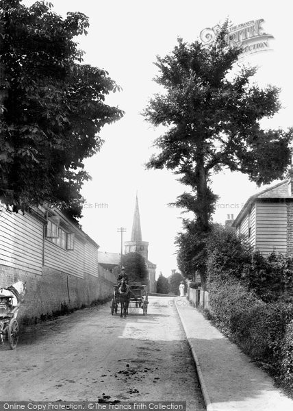 Photo of Forest Row, Hartfield Road  1907