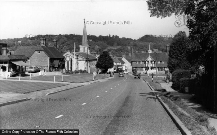 Photo of Forest Row, High Street c.1960