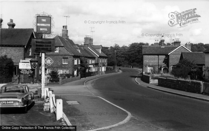 Photo of Forest Row, High Street c.1965