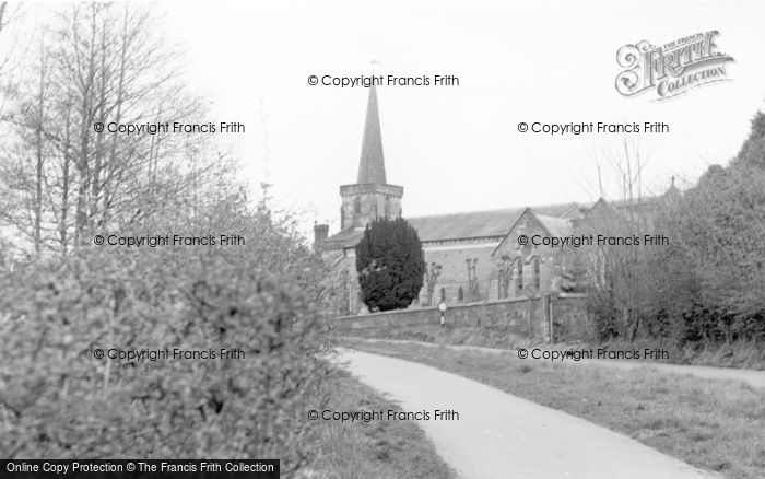 Photo of Forest Row, Holy Trinity Church 1965