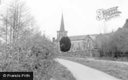 Forest Row, Holy Trinity Church 1965