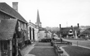 Forest Row, Holy Trinity Church And Village Hall c.1965