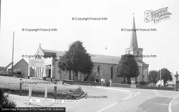 Photo of Forest Row, Holy Trinity Church c.1960