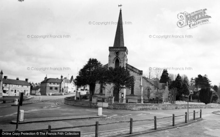 Photo of Forest Row, Holy Trinity Church c.1965