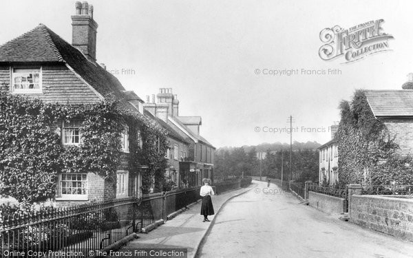 Photo of Forest Row, London Road  1907
