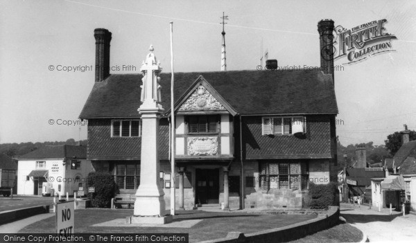 Photo of Forest Row, Memorial And Village Hall c.1960