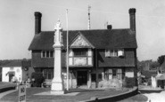 Forest Row, Memorial And Village Hall c.1960