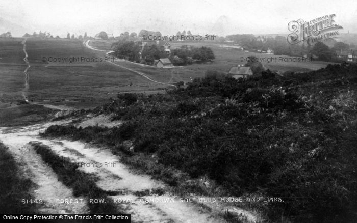 Photo of Forest Row, Royal Ashdown Golf Club House And Links 1909