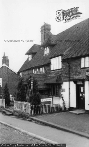 Photo of Forest Row, The Chequers c.1960