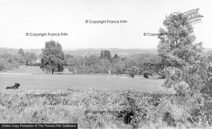 Photo of Forest Row, The Golf Course c.1955